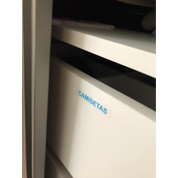 Etiquetas kit Closet / Armários
