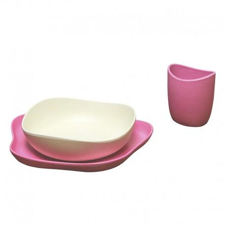 Kit Beco de alimentação rosa BecoThings