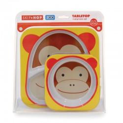 Set de Pratos Skip Hop Zoo - Macaco