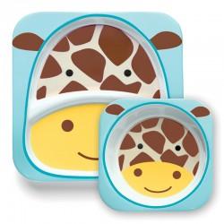 Set de Pratos Skip Hop Zoo - Girafa